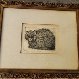 """""""Tabby"""" signed and numbered"""